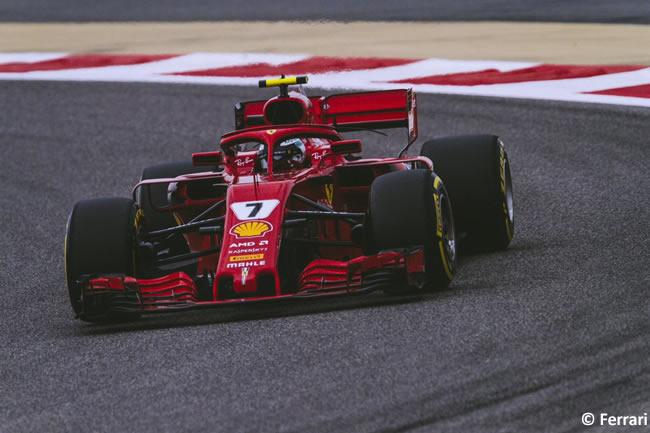 Kimi Raikkonen - Scuderia Ferrari - GP Bahréin - Viernes - 2018