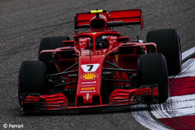 Kimi Raikkonen - Scuderia Ferrari - GP China 2018 - Viernes