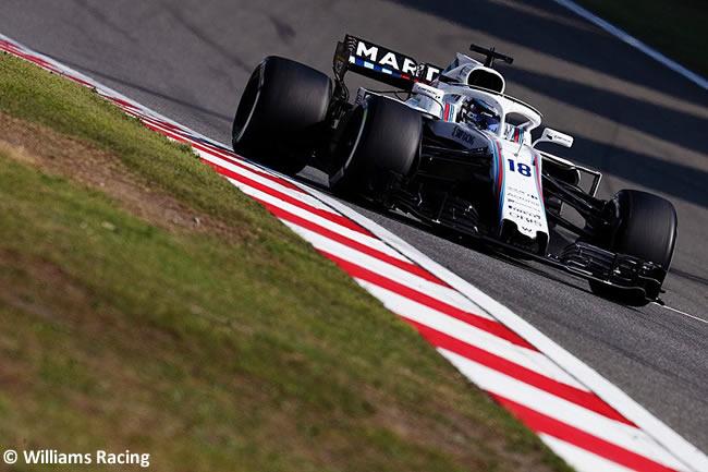 Lance Stroll - Williams - GP China 2018 - Carrera - Domingo -