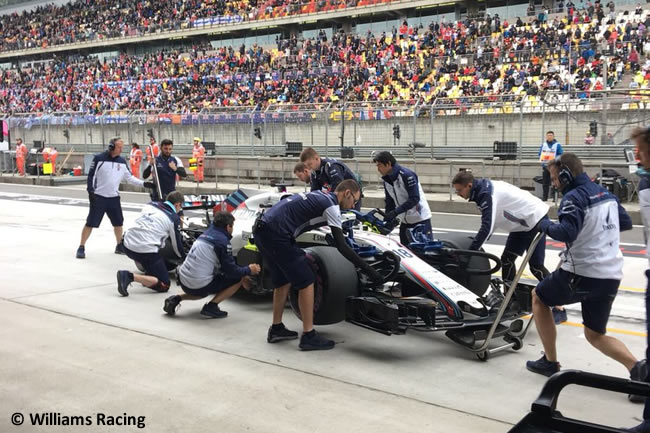 Lance Stroll - Williams - GP China 2018 - Sábado - Clasificación