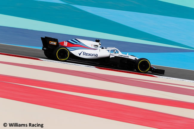 Lance Stroll - Williams - GP Bahréin - Viernes - 2018