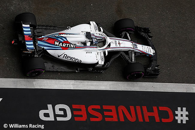 Lance Stroll - Williams - GP China 2018 - Viernes