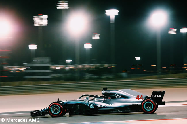 Lewis Hamilton - Mercedes - GP Bahréin - Viernes - 2018