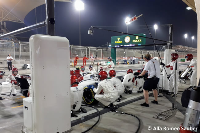 Marcus Ericsson - Sauber - GP Bahréin - Carrera - 2018