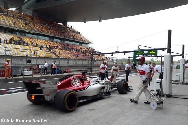 Marcus Ericsson - Sauber - GP China 2018 - Viernes