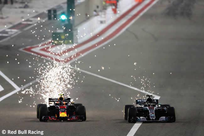 Max Verstappen - Red Bull Racing - GP Bahréin - Carrera - 2018
