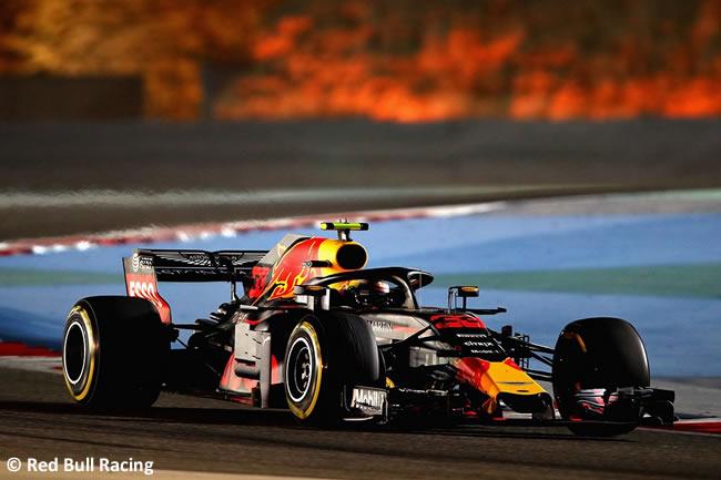 Max Verstappen - Red Bull Racing - GP Bahréin - Viernes - 2018