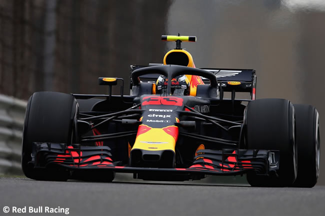 Max Verstappen - Red Bull - GP China 2018 - Viernes