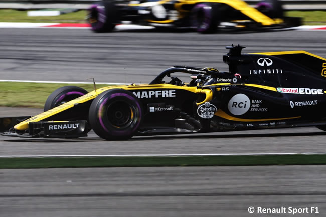 Nico Hulkenberg - Renault - GP China 2018 - Carrera - Domingo -