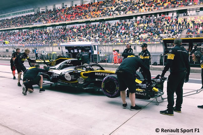 Nico Hulkenberg- Renault - GP China 2018 - Sábado - Clasificación
