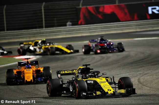 Nico Hulkenberg - Renault - GP Bahréin - Carrera - 2018