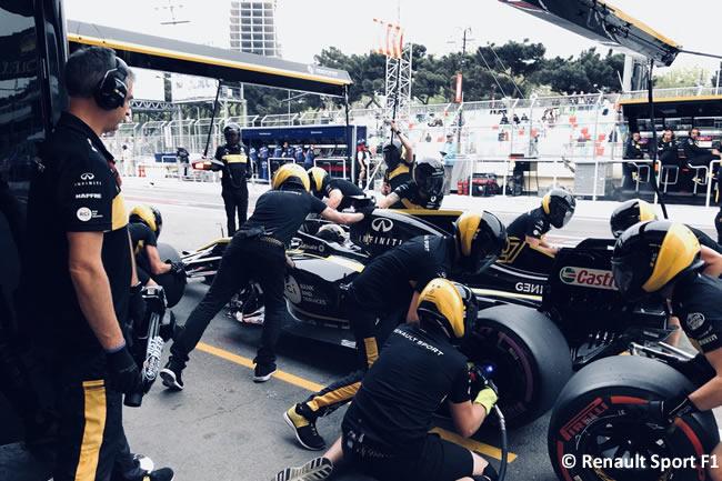 Nico Hulkenberg - Renault - Entrenamientos GP - Azerbaiyán, Bakú 2018