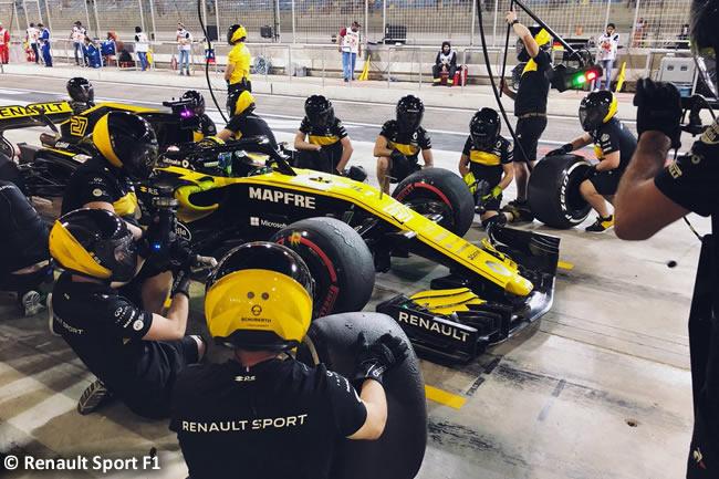 Nico Hulkenberg - Renault Sport - GP Bahréin - Viernes - 2018