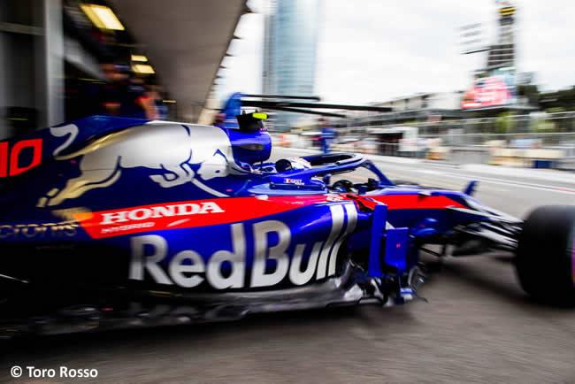 Pierre Gasly - Toro Rosso - Clasificación - GP - Azerbaiyán, Bakú 2018