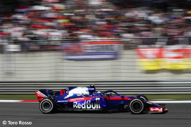 Pierre Gasly - Toro Rosso - GP China 2018 - Carrera - Domingo -