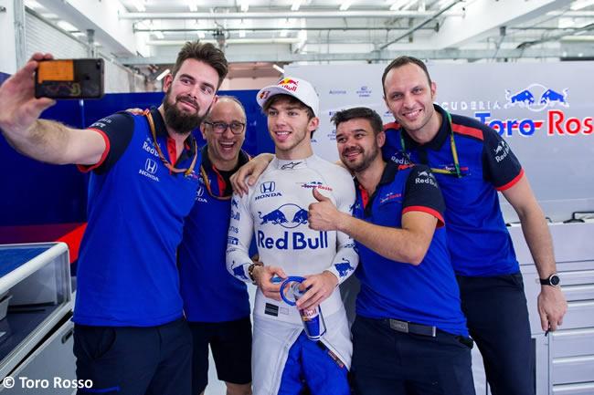 Pierre Gasly - Toro Rosso - GP Bahréin - Sábado - 2018