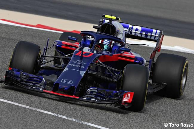Pierre Gasly - Toro Rosso - GP Bahréin - Viernes - 2018