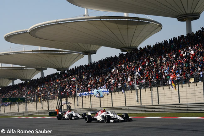 Sauber - GP China 2018 - Carrera - Domingo -