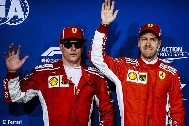 Sebastian Vettel - Kimi Raikkonen - Scuderia Ferrari - GP Bahréin - Sábado - 2018