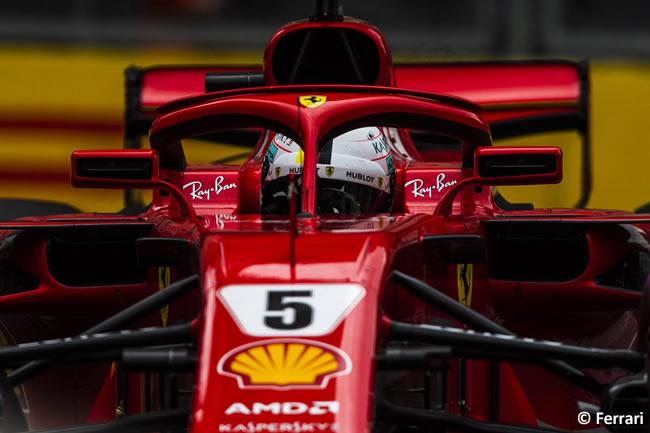 Sebastian Vettel - Scuderia Ferrari - Clasificación - GP - Azerbaiyán, Bakú 2018