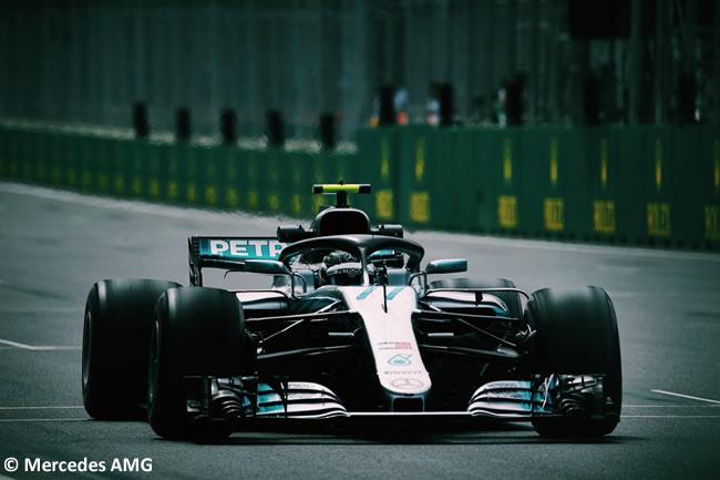 Valtteri Bottas - Mercedes AMG - Entrenamientos GP - Azerbaiyán, Bakú 2018