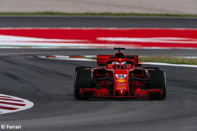 Antonio Giovinazzi - Scuderia Ferrari - Test Temporada 2018 - Día 2