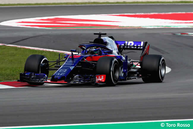Brendon Hartley - Toro Rosso - Carrera- GP - España 2018