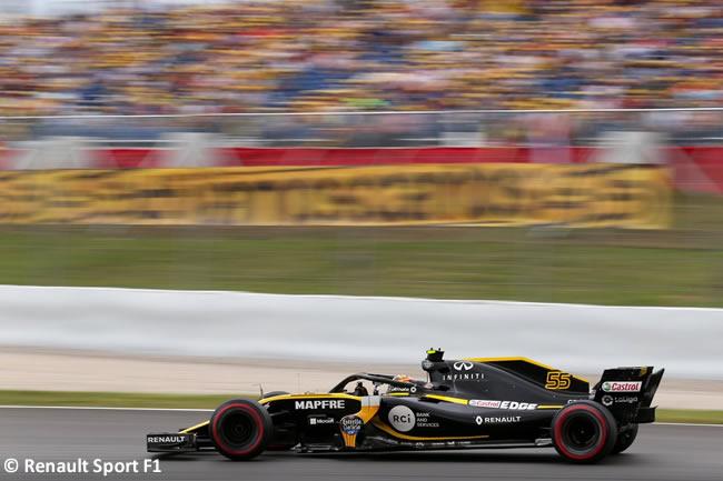 Carlos Sainz - Renault Sport - Clasificación - GP - España 2018
