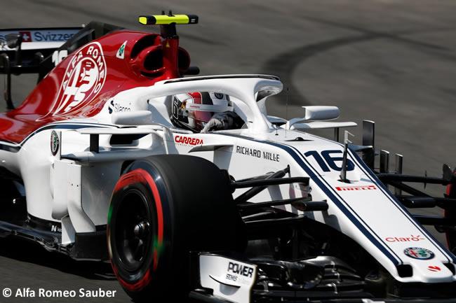 Charles Leclerc - Alfa Romeo Sauber - Entrenamientos - Viernes - GP - España 2018