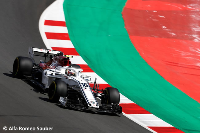 Charles Leclerc - Sauber - Carrera- GP - España 2018
