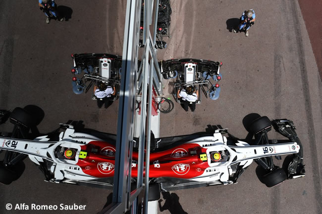 Charles Leclerc - Sauber - Clasificación GP - Mónaco 2018