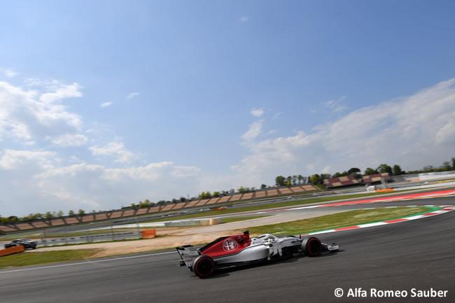 Charles Leclerc - Alfa Romeo Sauber - Test Temporada 2018 - Día 2