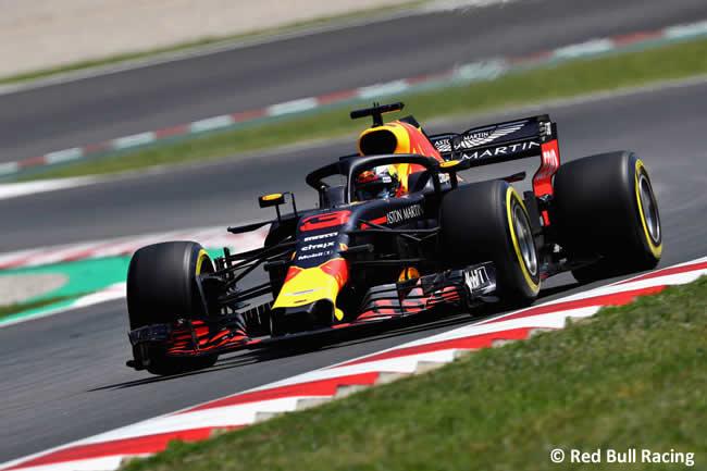 Daniel Ricciardo - Red Bull Racing - Entrenamientos - Viernes - GP - España 2018