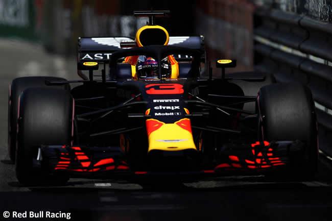 Daniel Ricciardo - Red Bull Racing - Clasificación GP - Mónaco 2018