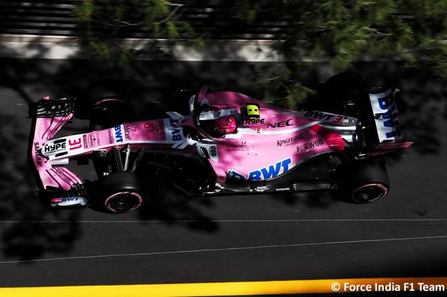 Esteban Ocon - Force India - Clasificación GP - Mónaco 2018
