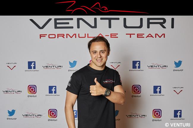 Felipe Massa - Venturi - 2018 - Anuncio