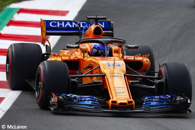 Fernando Alonso - McLaren - Carrera- GP - España 2018