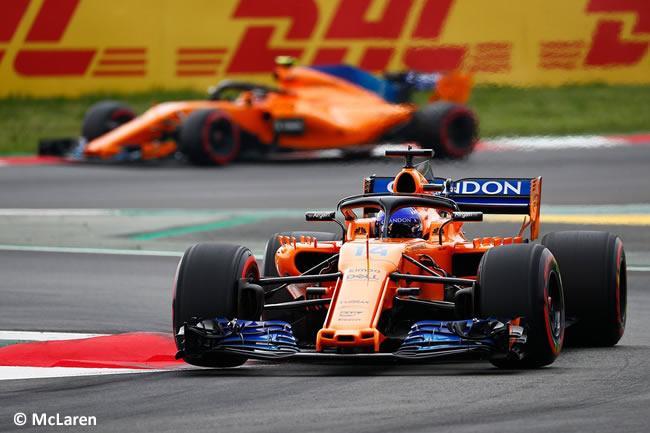 Fernando Alonso - McLaren - Clasificación - GP - España 2018