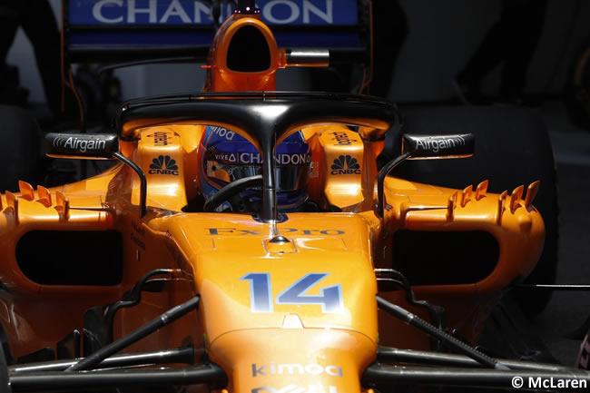 Fernando Alonso - McLaren - Clasificación GP - Mónaco 2018