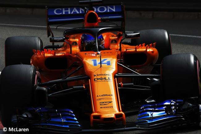 Fernando Alonso - McLaren - GP Mónaco - 2018