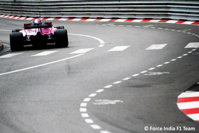 Force India - GP Mónaco - 2018