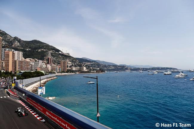 Haas - Clasificación GP - Mónaco 2018