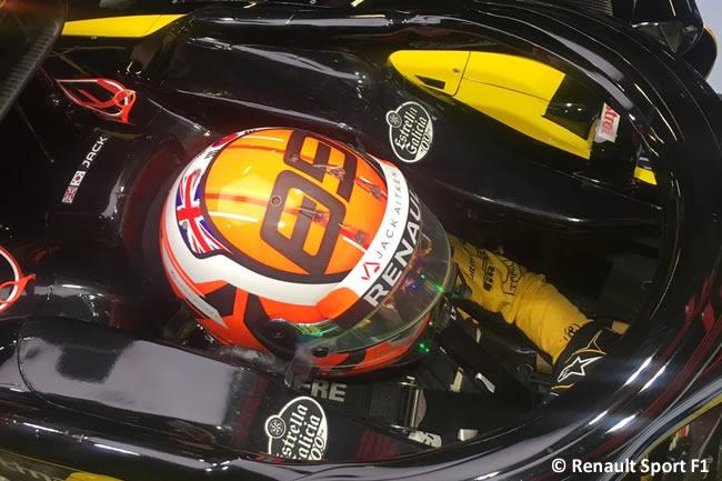 Jack Aikten - Renault - Test Temporada 2018 - Día 2