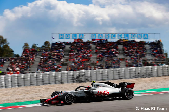 Kevin Magnussen - Haas - Carrera- GP - España 2018