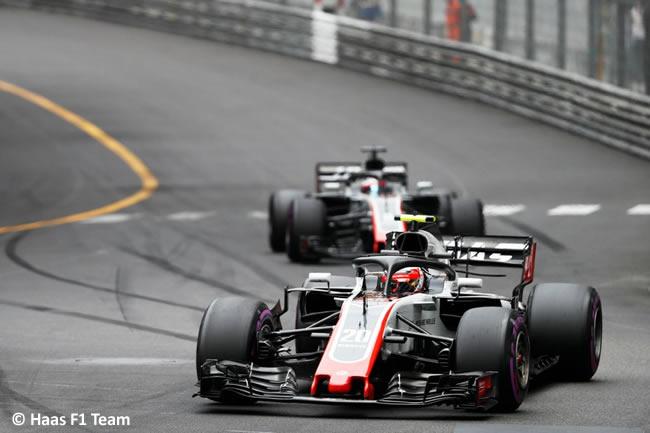 Kevin Magnussen - Haas - Carrera GP - Mónaco 2018