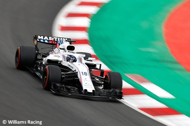 Lance Stroll - Williams - Clasificación - GP - España 2018