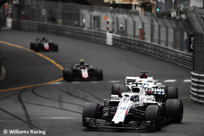 Lance Strol - Williams - Carrera GP - Mónaco 2018