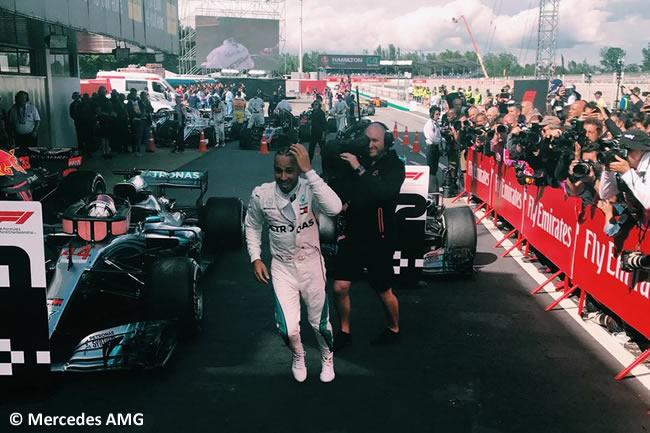 Lewis Hamilton - Mercedes AMG - Carrera- GP - España 2018