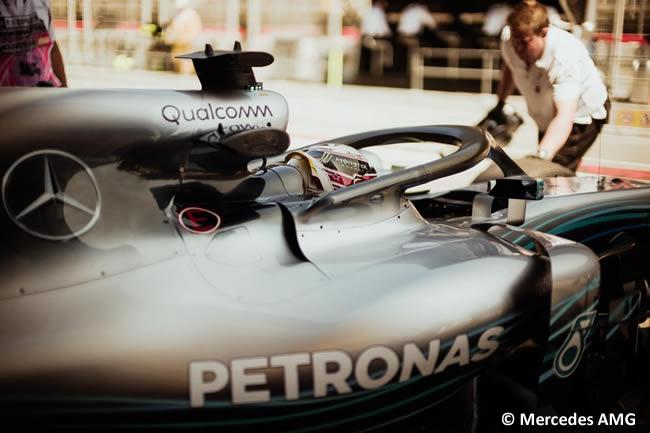Lewis Hamilton - Mercedes - Entrenamientos - Viernes - GP - España 2018