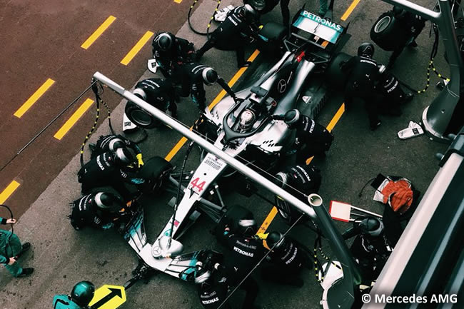 Lewis Hamilton - Mercedes - Carrera GP - Mónaco 2018